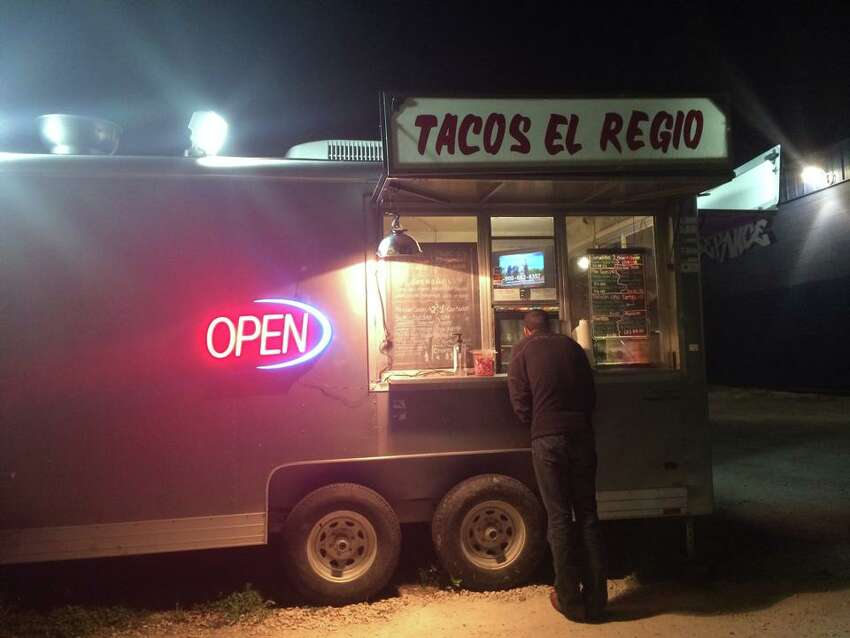 Taco trucks Tourists may shy away from taco trucks, opting for trendy spots like
