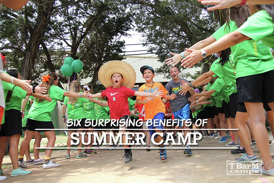 6 Surprising Benefits of Summer Camp tbarmcamps.org. Photo: Photos Courtesy Of T Bar M Camps