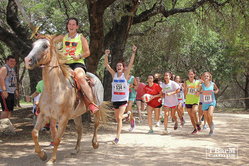6 Surprising Benefits of Summer Camp Horseback riding and disc golf in the morning, tie-dye at midday, pool time in the afternoon, and that's just for starters. tbarmcamps.org.