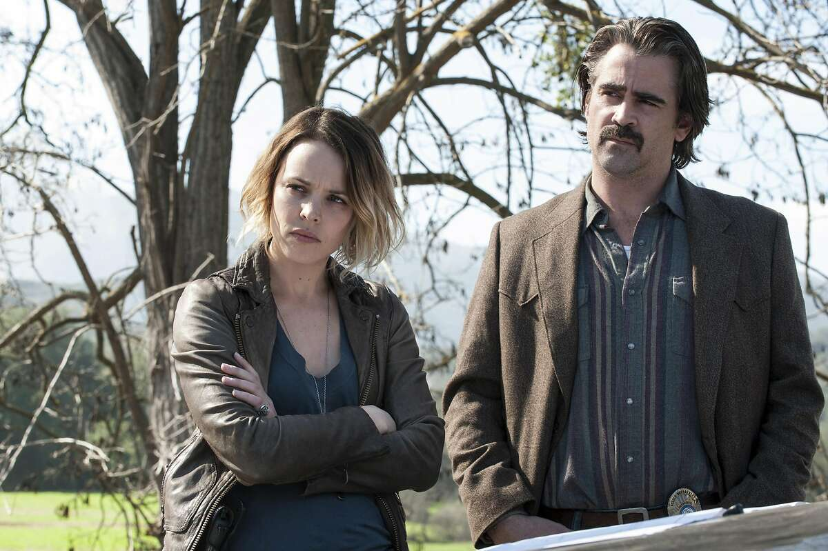 Two detectives (Rachel McAdams and Colin Farrell) from different parts of L.A. County, California, team up on a grisly murder in season two of 'True Detective' on HBO. June, 2015