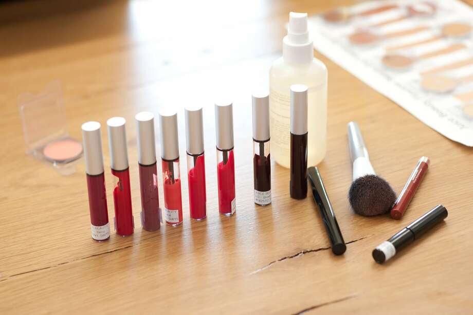 Product samples in development at Juice Beauty. Photo: Samantha Berg, Special To The Chronicle