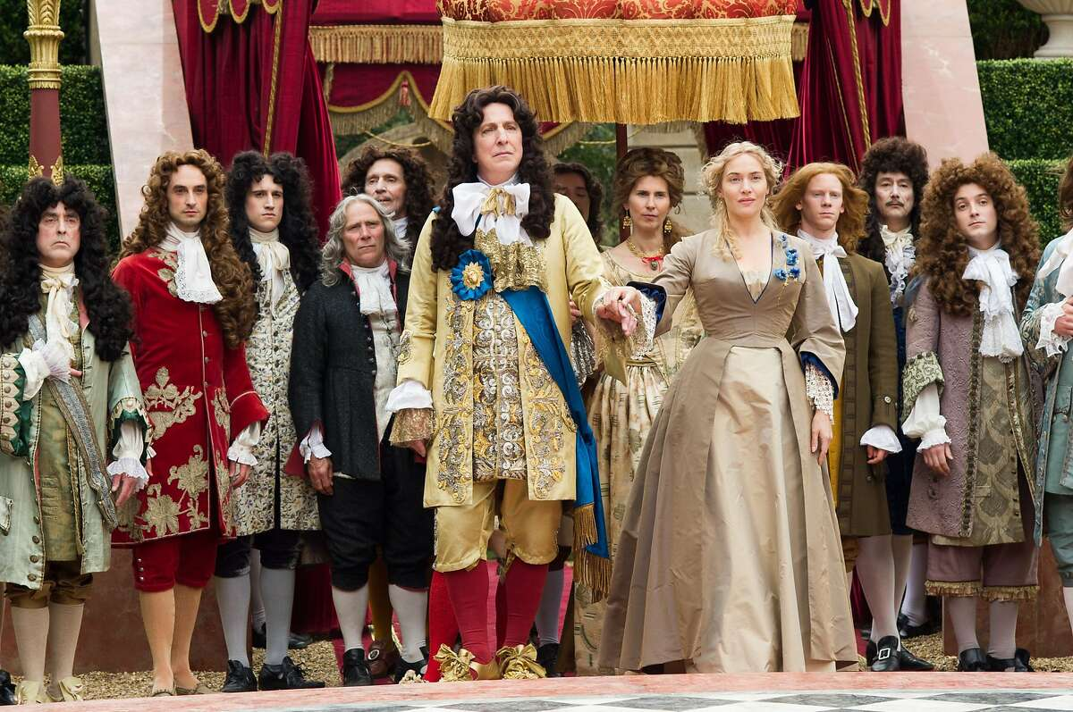 """Alan Rickman plays Louis XIV in """"A Little Chaos,"""" which he also co-wrote and directed. Co-starring Kate Winslet. _D3S5979.NEF"""