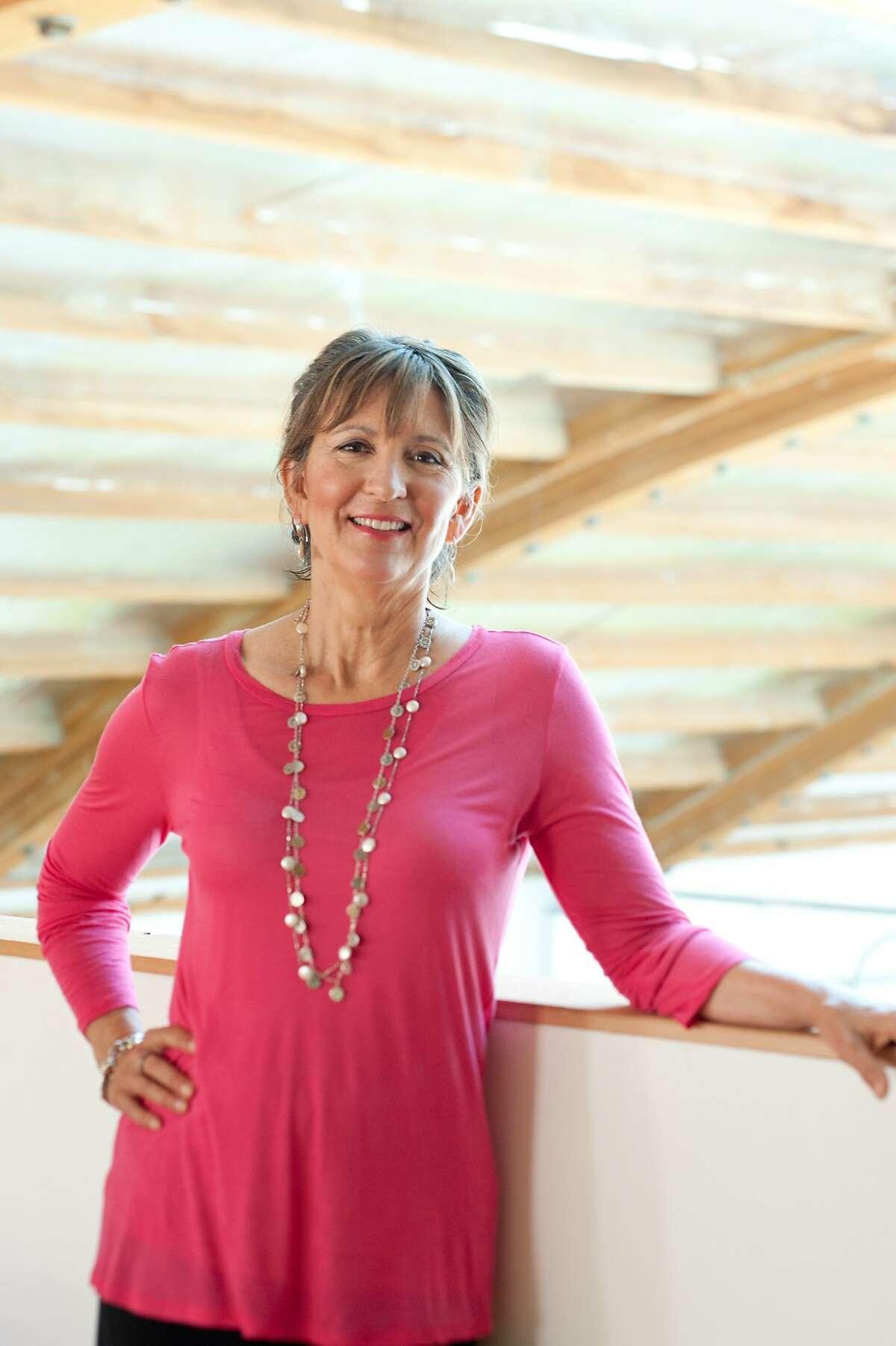 Juice Beauty founder Karen Behnke at the headquarters on Wednesday, June 17, 2015, in San Rafael, Calif.