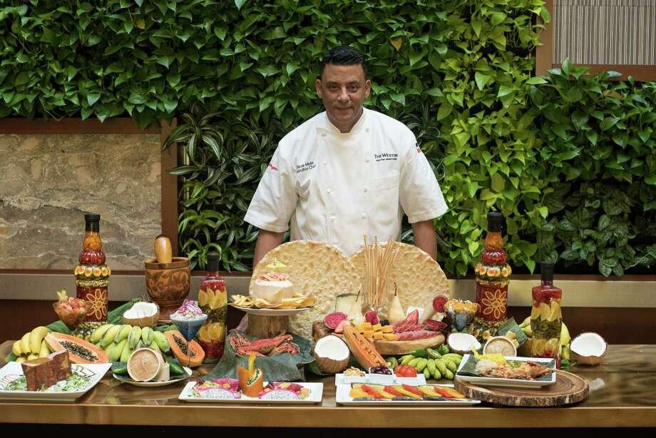 Chef Oscar Mejia at the Westin Downtown Houston. Photo: Jamaal Ellis, For The Chronicle / ©2015 Houston Chronicle
