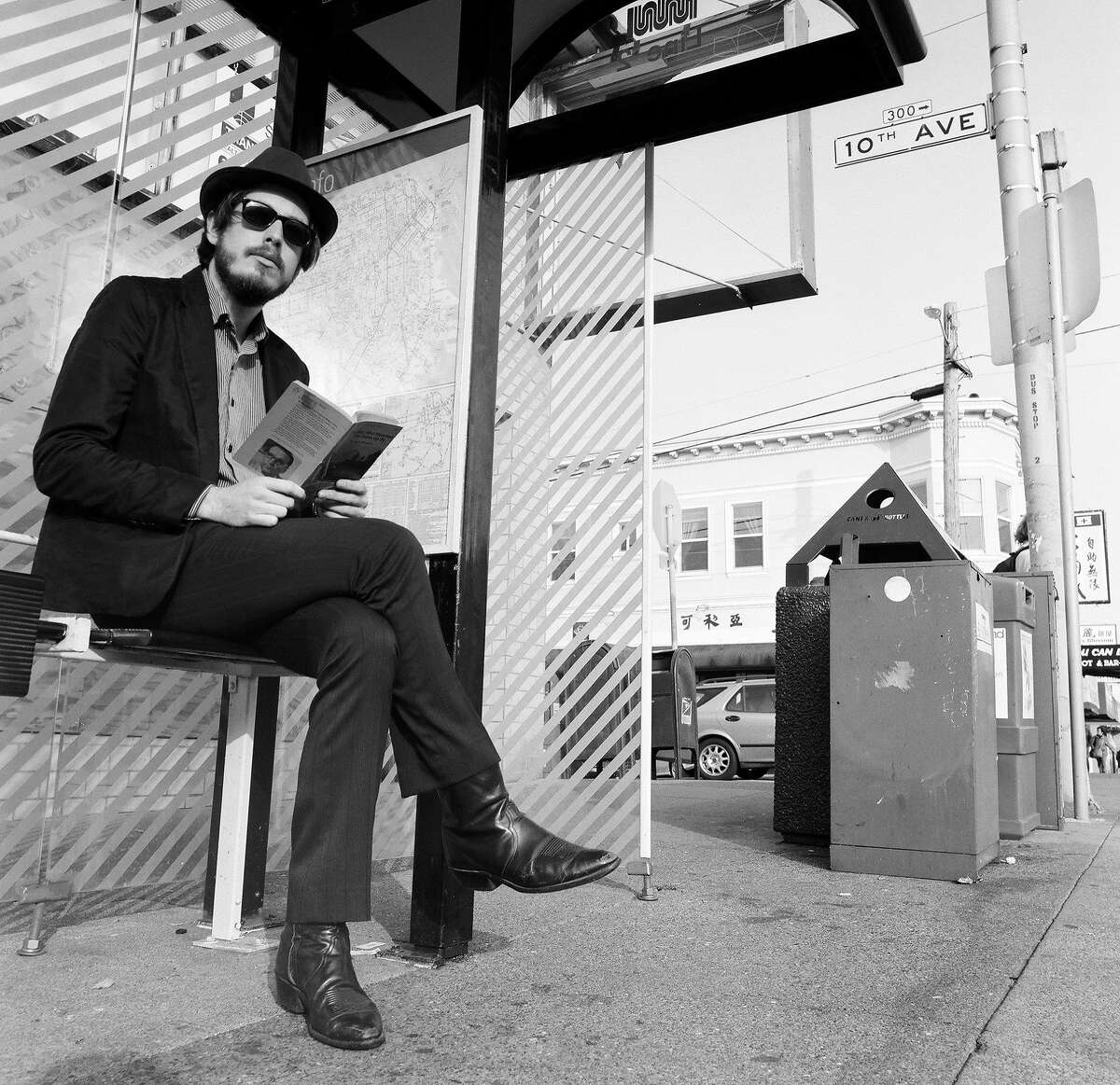 Andy Cabic performs with Vetiver on Mar. 5 at the Swedish American Hall in San Francisco.