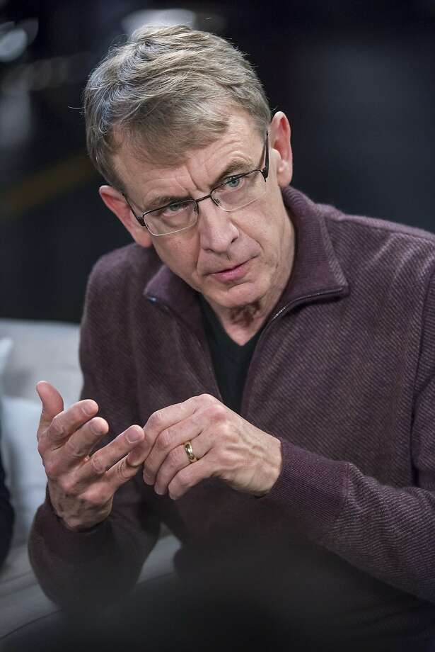 John Doerr, a senior partner with Kleiner Perkins Caufield & Byers, speaks during a Studio 1.0 television interview in San Francisco in June 2015.  Photo: David Paul Morris, Bloomberg