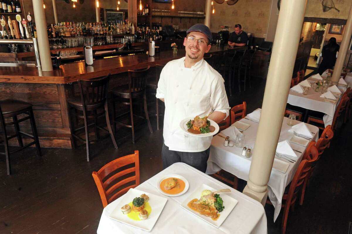 Chef Daniel Sala of Rocco's restaurant at 989 Main Street on Wednesday June 10 2015 in Jonesville, N.Y. (Michael P. Farrell/Times Union)