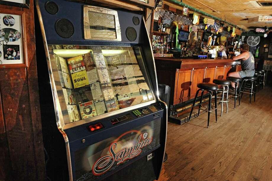 The jukebox at Tin and Lint bar on Caroline St. on Thursday, June 11, 2015 in Saratoga Springs, N.Y. (Lori Van Buren / Times Union) Photo: Lori Van Buren