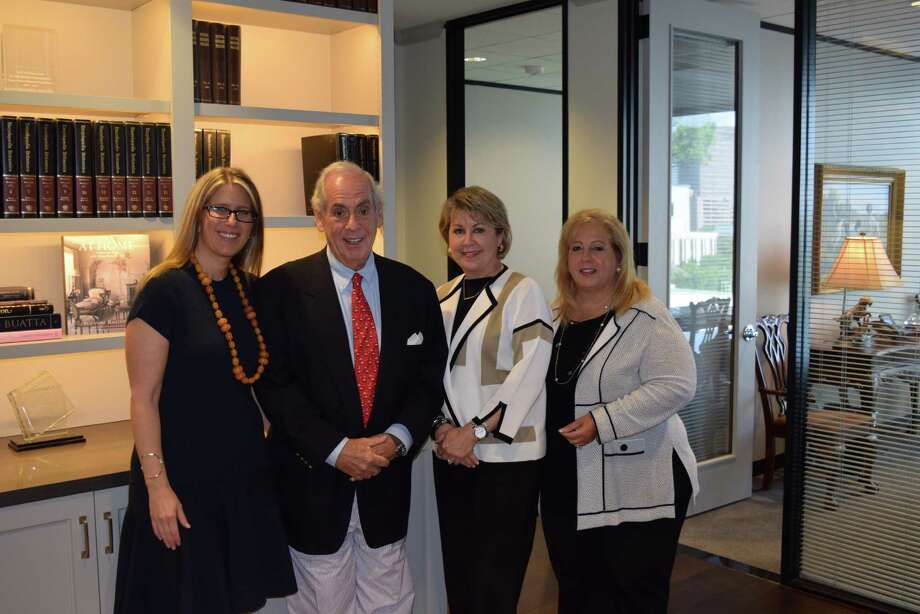 From left are Stephanie Pfeffer Anton; chairman and CEO John A. Daugherty, Jr.; president and COO Cheri Fama; and executive vice president Anne Incorvia.