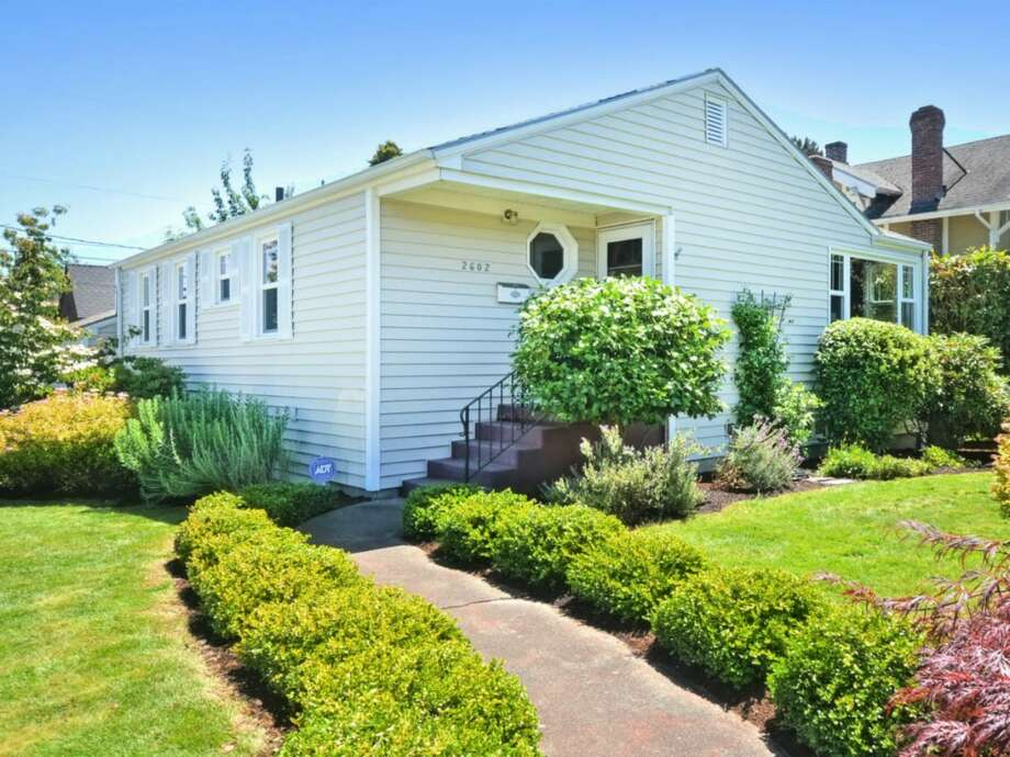 The first home, 2602 50th Ave. S.W., is listed for $529,500. The three bedroom, one-and-three-quarters bathroom home features a 600 sq. ft. back deck.