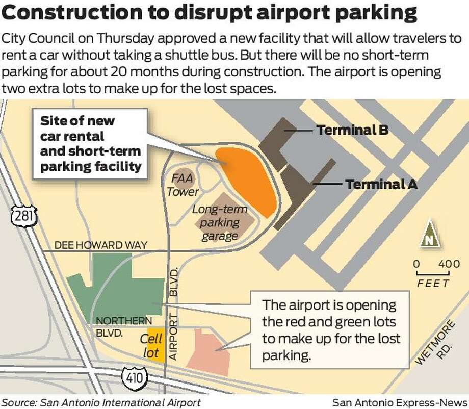 S.A. Airport Expects Heavy Traffic, Longer Lines Over Next