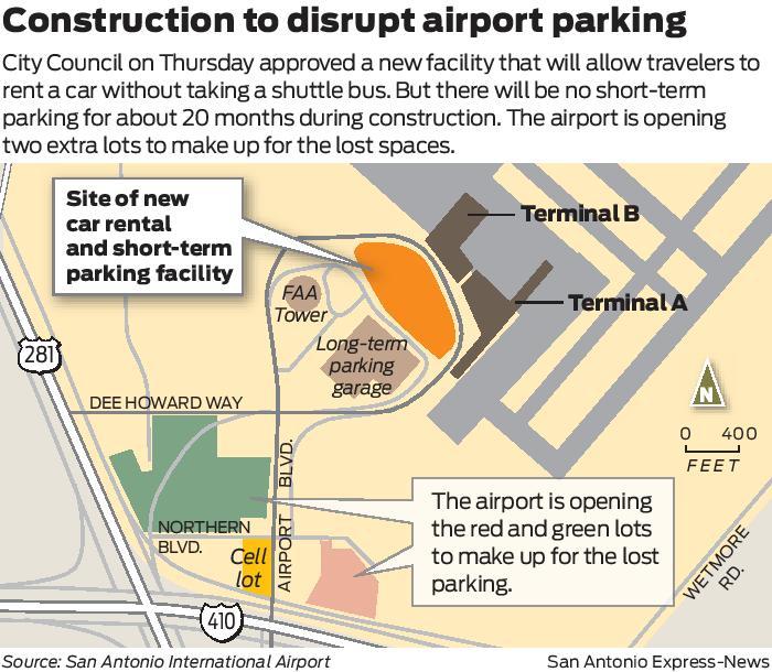San Antonio OKs $166 Million Car Rental Facility At