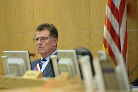 HISD Superintendent Terry Grier is seen during an HISD School Board meeting Thursday, June 18, 2015, in Houston.