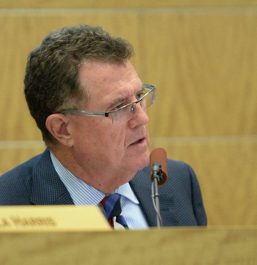 HISD Superintendent Terry Grier at the HISD School Board meeting on Thursday. Photo: Jon Shapley, Houston Chronicle / © 2015 Houston Chronicle
