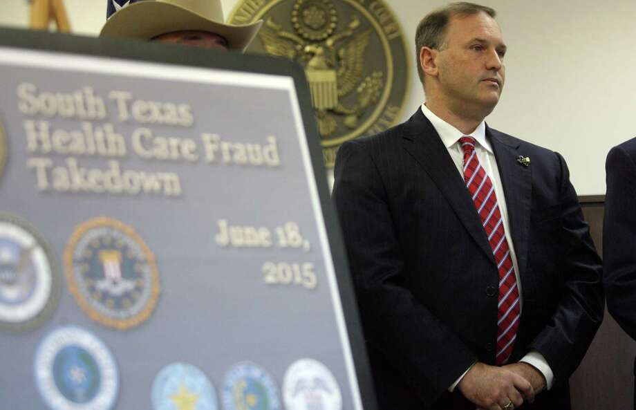 In June, San Antonio FBI Special Agent in Charge Christopher H. Combs revealed that 16 people in South Texas had been charged in a nationwide crackdown on Medicare and Medicaid fraud. Photo: Delcia Lopez /For The Express-News / Delcia Lopez photography