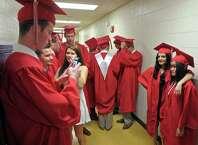 The 2015 Pomperaug Regional High School Graduation Program on Thursday night, June 18, 2015 at Pomperaug High School, Southbury, Conn.