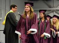 Bethel High School Commencement Ceremony was held at Western Connecticut State Universities O'Neill Center on Thursday, June 18,2015.