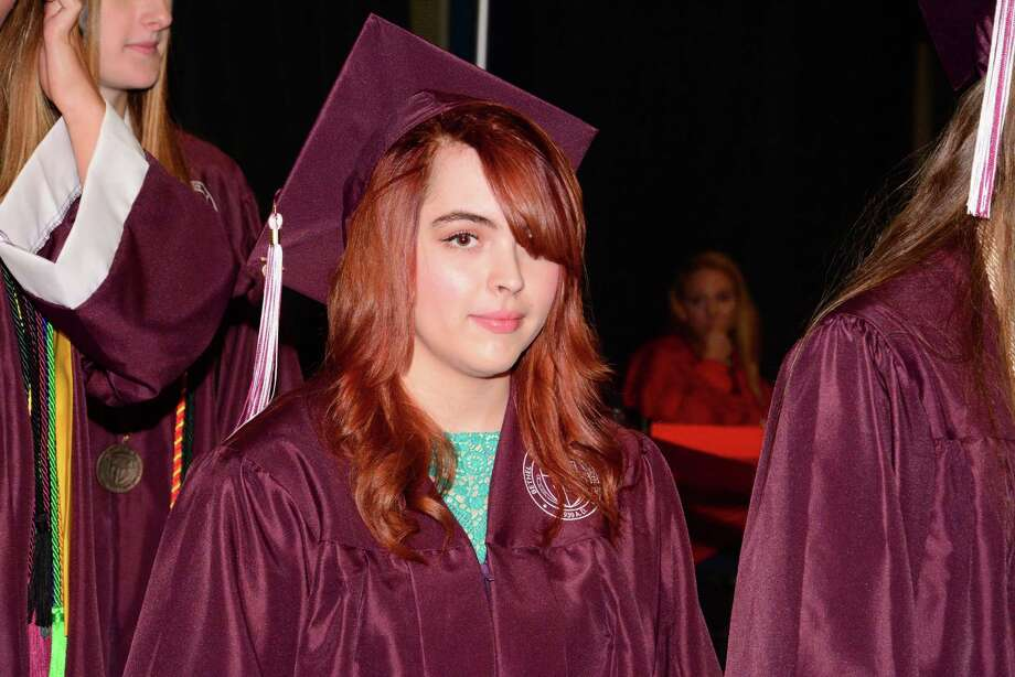 Bethel High School Commencement Ceremony was held at Western Connecticut State Universities O'Neill Center on Thursday, June 18,2015. Photo: Lisa Weir, For The / The News-Times Freelance