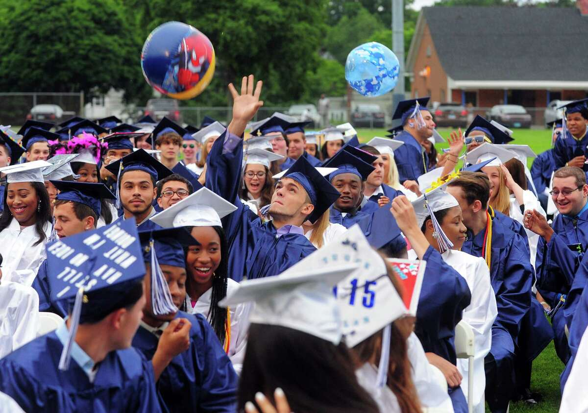 Ansonia High School's Class of 2015 Commencement Exercises in Ansonia, Conn., on Thursday June 18, 2015.