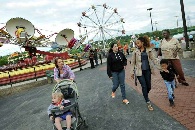 Opening night on Thursday, June 18, 2015, at Huck Finn's Playland in Albany, N.Y. (Cindy Schultz / Times Union) Photo: Cindy Schultz / 00032316B