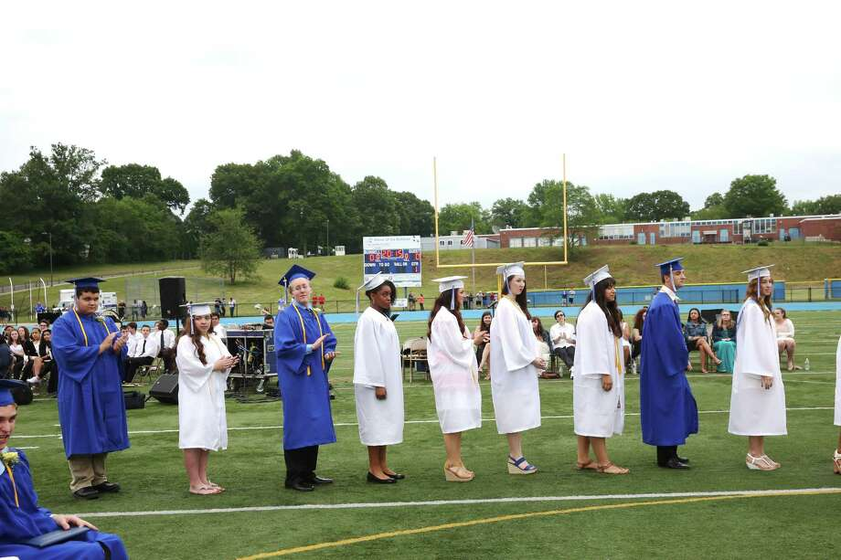 Bunnell High School Commencement exercises on June 18, 2015. Photo: Mike Ross, For Hearst Connecticut Media / Connecticut Post Freelance