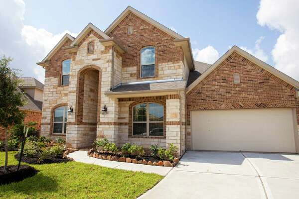New home construction by Lennar in the Grand Mission Estates subdivision on Thursday, May 28, 2015 in Richmond, Texas. (Bob Levey/For The Chronicle)