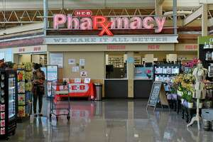 A full service pharmacy at the H-E-B store at 5895 San Felipe Street.