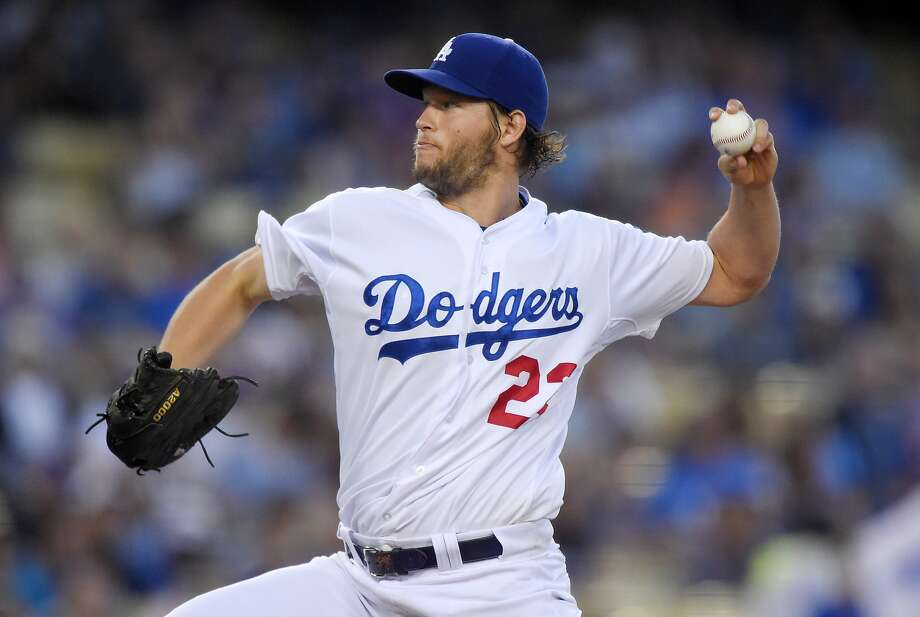 As the Giants head to Los Angeles for a weekend set, Clayton Kershaw and the Dodgers are sounding a bit cranky. Neither Kershaw, nor the Dodgers' No. 2, Zack Greinke, will start this weekend. Photo: Mark J. Terrill, Associated Press