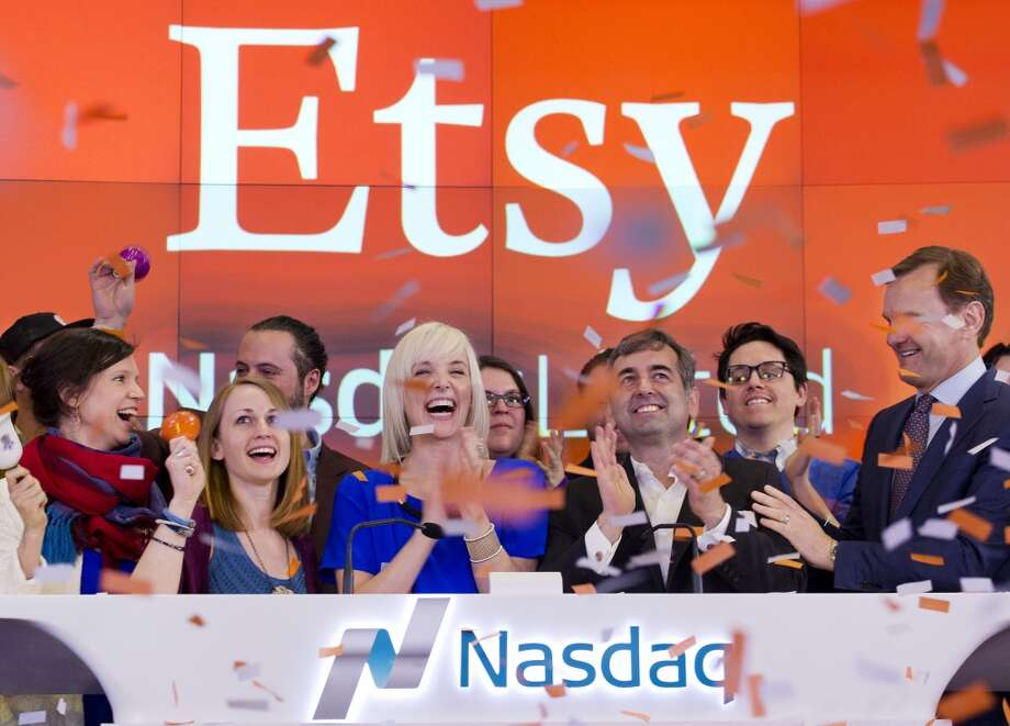 Etsy (Brooklyn, New York)Employees can bring their dog to work at this online crafts marketplace. Photo: Mark Lennihan, Associated Press