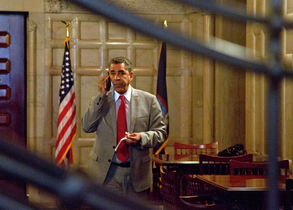 U.S. Rep. Adriano Espaillat said Thursday that he has the coronavirus, making the New York Democrat the latest House member to report testing positive since dozens huddled together for protection during the Jan. 6 insurrection at the U.S. Capitol. (archive photo)