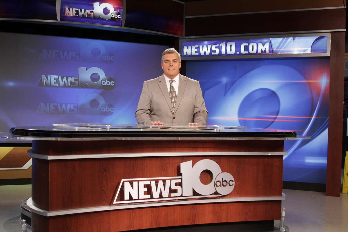 Best TV news anchor: 1. John Gray(Michael P. Farrell / Times Union)
