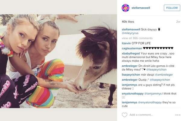Miley Cyrus reportedly dating Victoria Secret model Stella