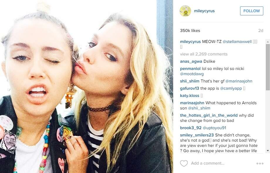 entertainment celebrities article miley cyrus reportedly dating victoria secret