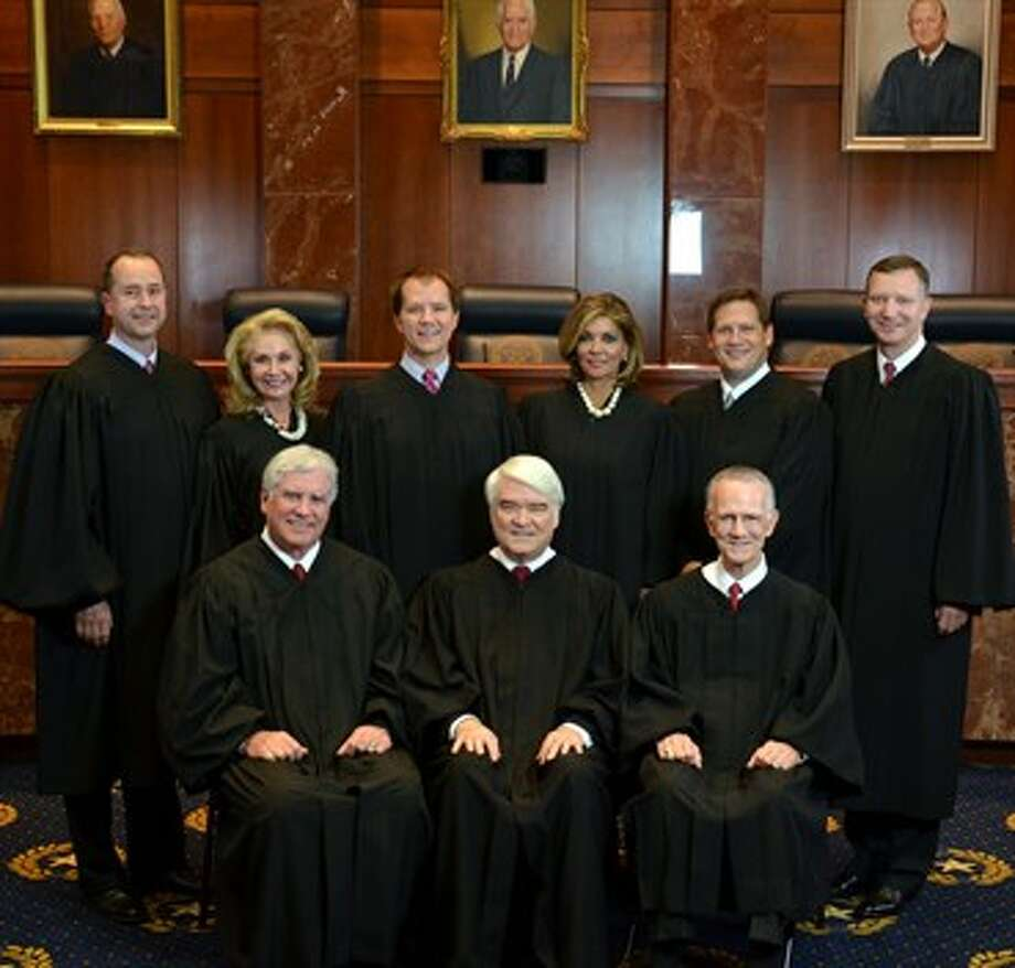 The Texas Supreme Court Photo: Texas Supreme Court