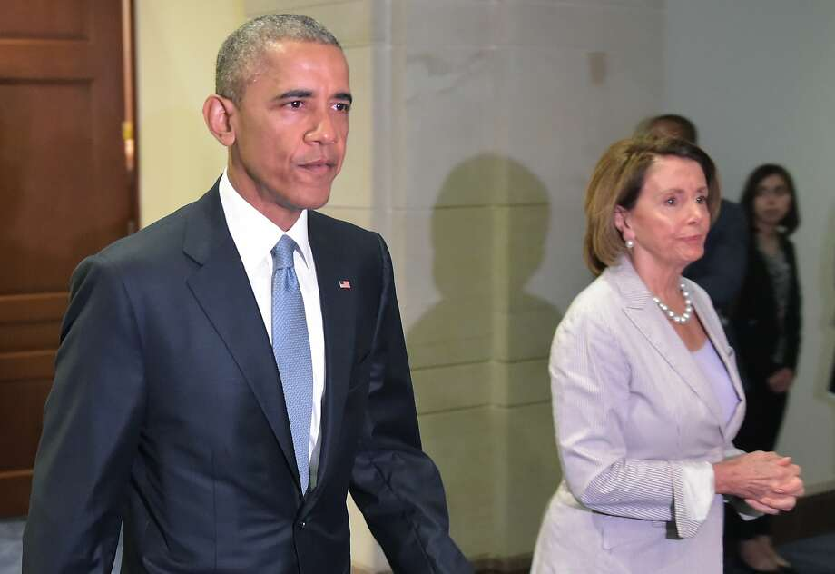 President Obama has been unable to win the support of House Minority Leader Nancy Pelosi on free-trade authority. Photo: Mandel Ngan, AFP / Getty Images