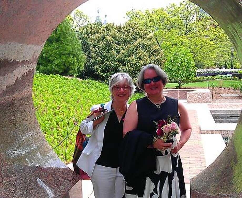 Our wedding. Photo: Gray, Lisa, Courtesy Leah Lax