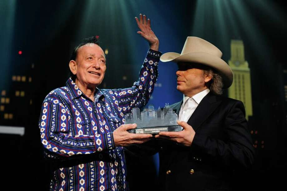 Flaco Jimenez at Austin City Limits Hall of Fame awards show concert at Moody Theater in Austin. Photo: Scott Newton / KLRU-TV/Austin City Limits