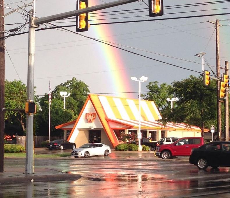 Photographic Proof That Whataburger Is The Gold At The End