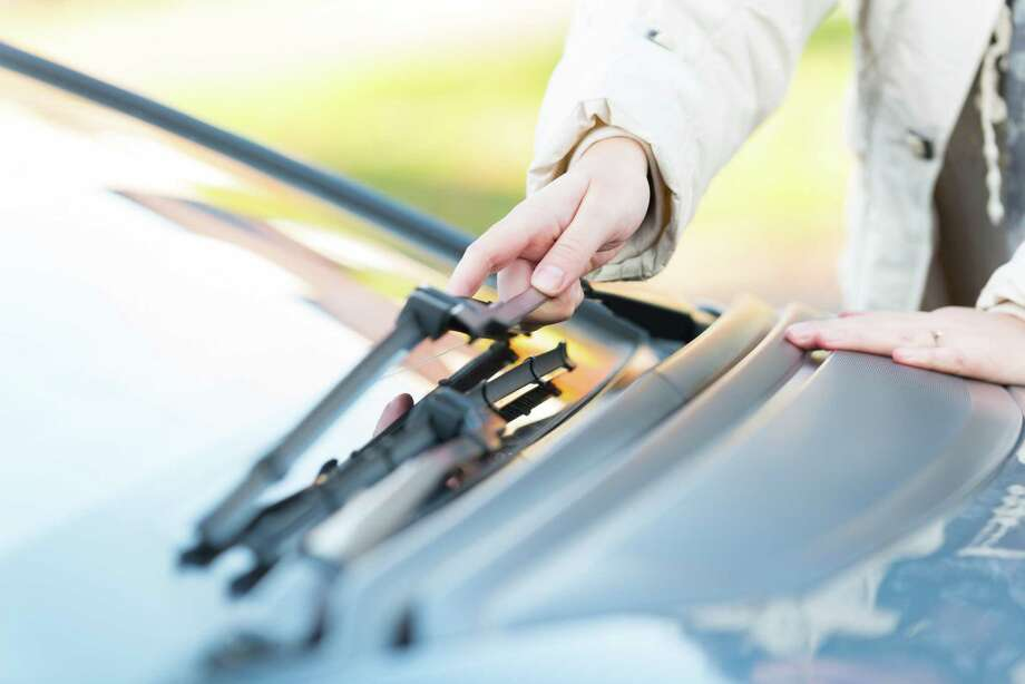 Don't get stuck in a sun shower with old wiper blades. Check them before you head out to save yourself some trouble. (Fotolia) / Monika Wisniewska - Fotolia