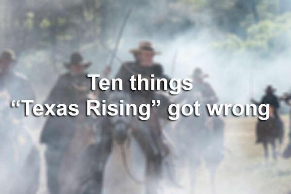 """Ten things """"Texas Rising"""" got wrong."""