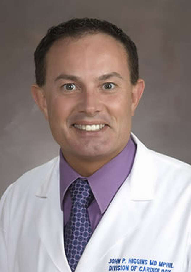 Dr. John P. Higgins, associate professor of medicine, the University of Texas Health Science Center at Houston (UTHealth) Division of Cardiology. Photo: Courtesy Photo / ONLINE_YES