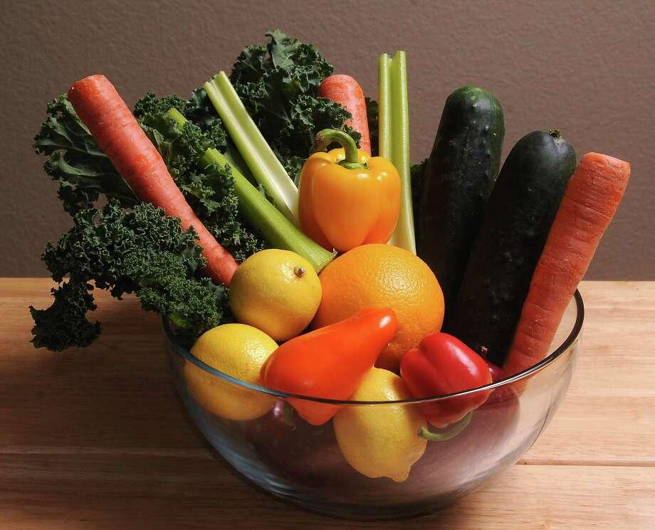 Fruits and vegetables Photo: Dave Rossman, Freelance / © 2014 Dave Rossman
