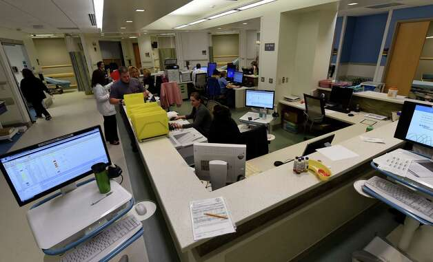 The new and expansive Emergency Department at Ellis Hospital in Schenectady, N.Y.      (Skip Dickstein/Times Union) Photo: SKIP DICKSTEIN / 00029610A
