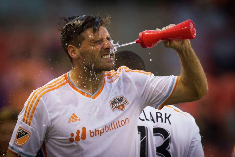 Dynamo coach Owen Coyle says center back David Horst, above, will see plenty of minutes if he continues to show improvement in his game. Horst has started the past five matches. Photo: Marie D. De Jesus, Staff / © 2015 Houston Chronicle