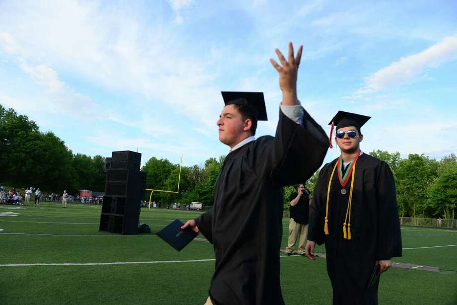 Shelton High School's Class of 2015 Commencement Exercises in Shelton, Conn., on Friday June 19, 2015. Photo: Christian Abraham, Hearst Connecticut Media / Connecticut Post