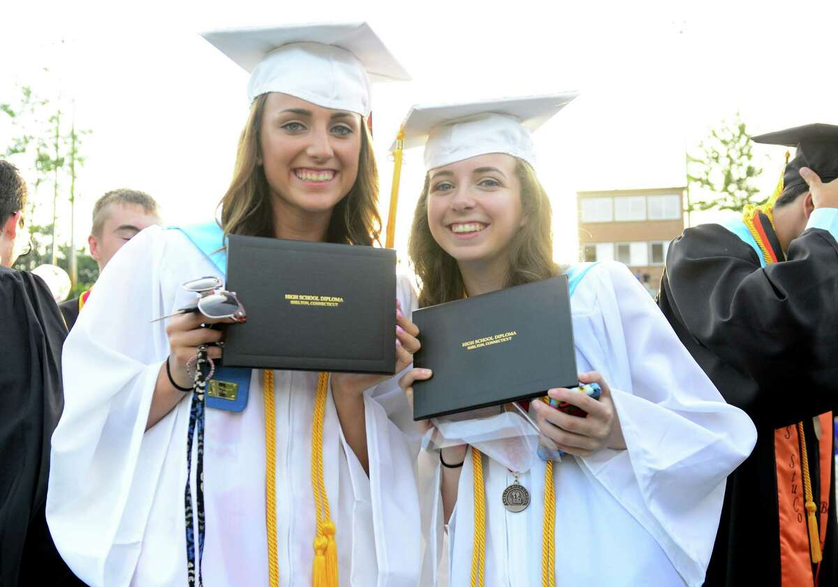 Shelton High School's Class of 2015 Commencement Exercises in Shelton, Conn., on Friday June 19, 2015.
