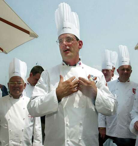 """Walter Scheib was hired by Hillary Rodham Clinton to be White House chef and served in the post until he was dismissed in 2005 by Laura Bush, ending his 11 year run. Since leaving Washington, he has been a food consultant and speaker and appeare on the """"Iron Chef"""" show. Photo: Matt Houston, STR / AP"""
