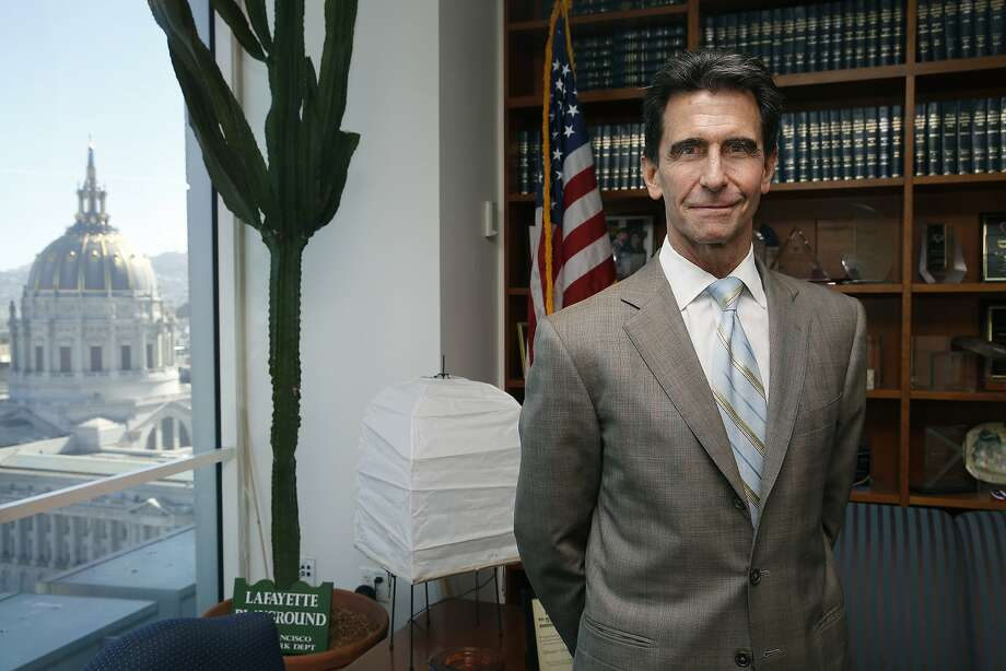 State senator Mark Leno in his office in San Francisco, Calif.,  on Friday, June 19, 2015.  He wrote the first legislation on same sex marriage to pass state legislature. Photo: Liz Hafalia, The Chronicle