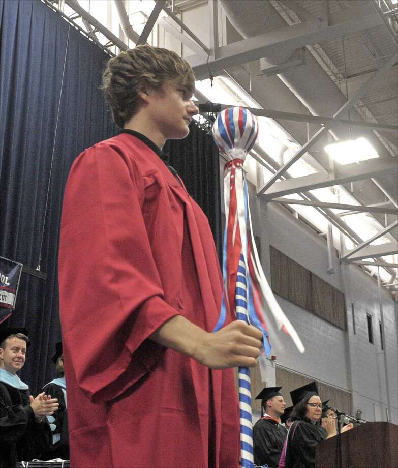 Photographs from the 2015 New Fairfield High School Commencement Exercises, on Saturday morning, June 20, 2015, held at the O'Neil Center at Western Connecticut State University, in Danbury, Conn. Photo: H John Voorhees III, Hearst Connecticut Media / The News-Times