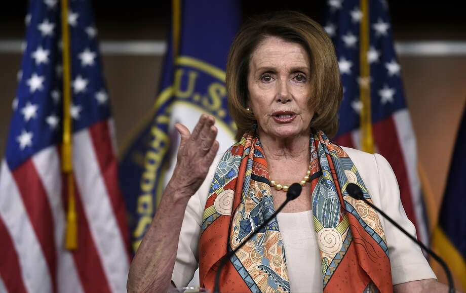 House Minority Leader Nancy Pelosi announced she would side with her caucus' liberals and vote against the trade bill even after working with Republican leaders and conferring privately with President Obama. Photo: Susan Walsh, Associated Press